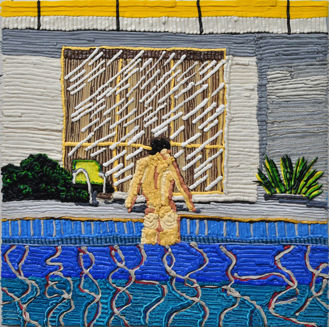 , 'Peter Getting out of Nick's Pool, Hockney, 1966,' 2017, Craig Krull Gallery