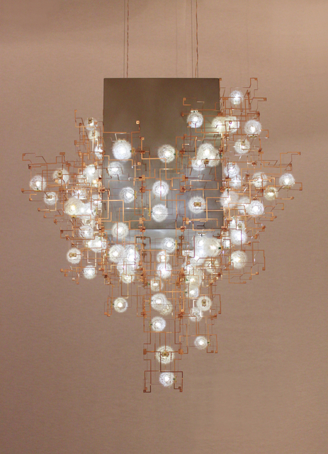 , 'Fragile Future 3 Concrete Chandelier,' 2011, Victoria and Albert Museum (V&A)