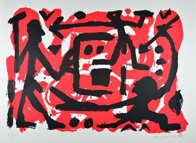 A.R. Penck, 'Angriff und Verteidigung', 1990-2000, ARTEDIO