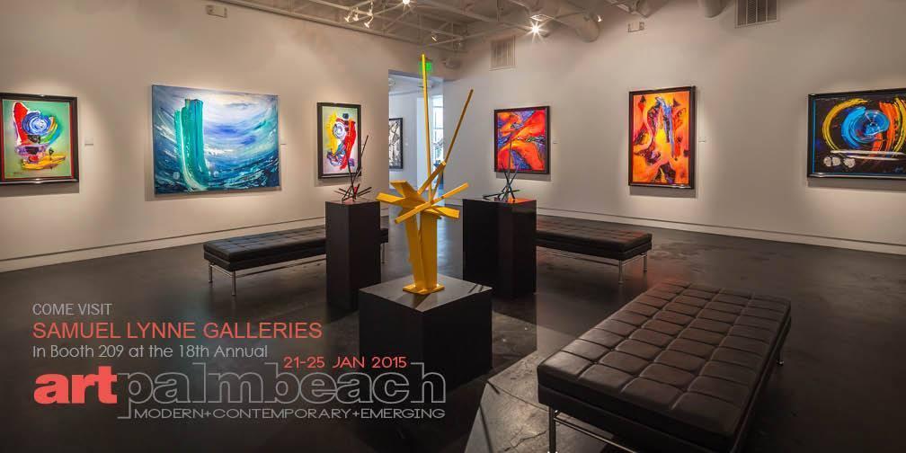 Samuel Lynne Galleries at Art Palm Beach 2015