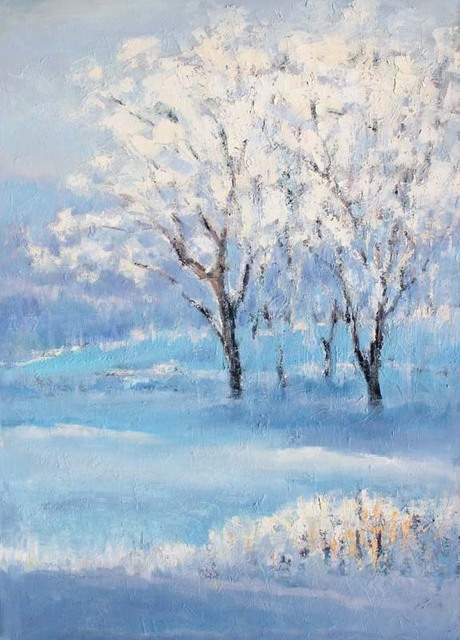 , 'Dancing Snow,' 2018, Tao Water Art Gallery