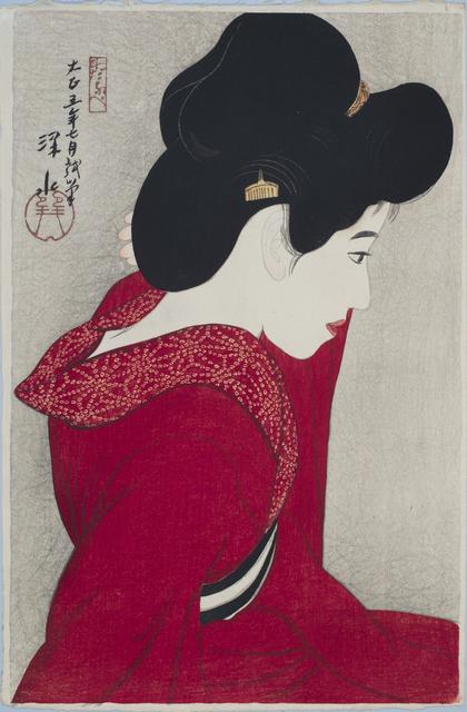 , 'Before the Mirror (Taikyo),' 1916, Sebastian Izzard LLC Asian Art