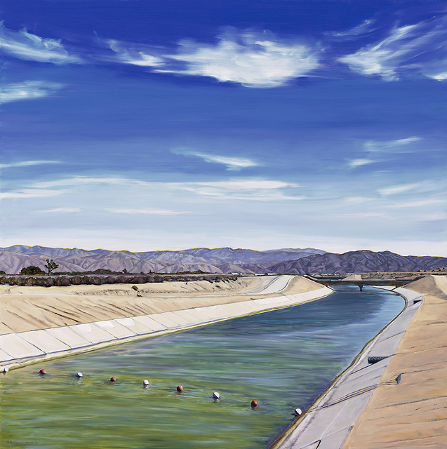 , 'California Aqueduct, Hesperia,' 2016, Sue Greenwood Fine Art