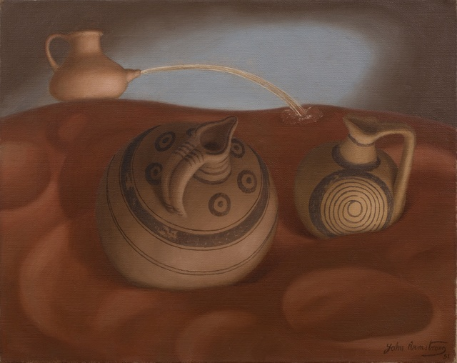 , 'Two Cypriot Pots,' 1951, Piano Nobile
