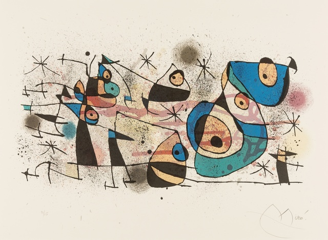 Joan Miró, 'Céramiques (Mourlot 928)', 1974, Forum Auctions