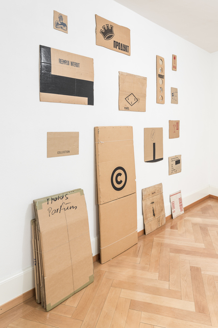 , 'Carton Collection,' 1985-1990, Mai 36 Galerie