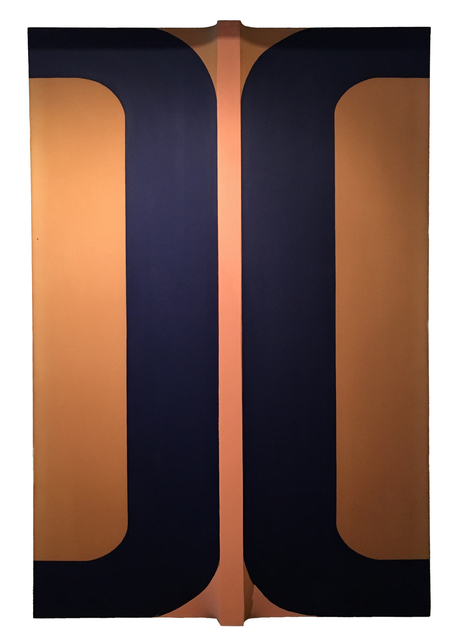 , 'Blue X,' 1968, Chowaiki & Co.