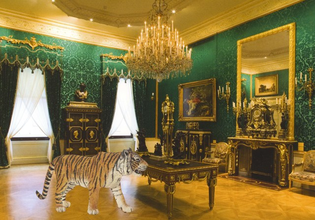, 'Bengal Tiger in Large Drawing Room,' 2013, Wilding Cran Gallery