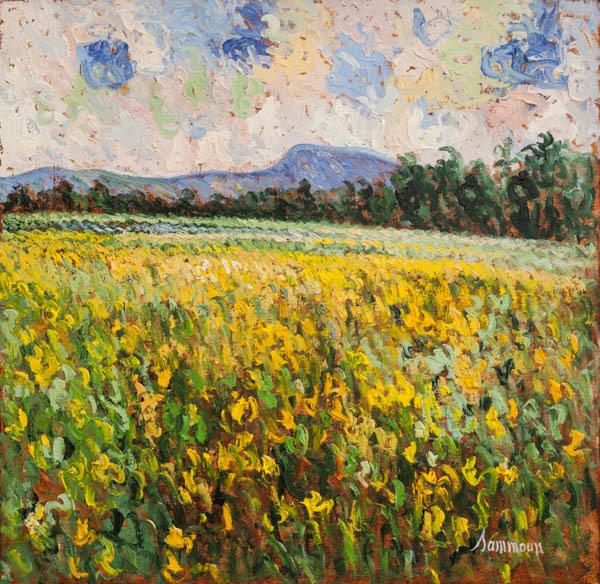 , 'Mustard Field, Ile d'Orleans,' 2018, Galerie d'Orsay