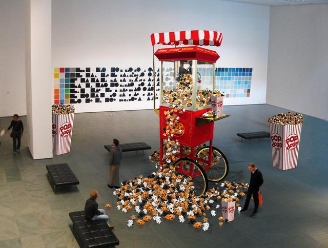 , 'PopDogs Oversize,' 2013, Galleria Ca' d'Oro