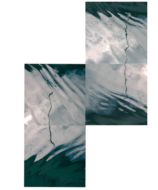 , 'Alaska Poles # 63, 64, 69,70,' 2015, The McLoughlin Gallery