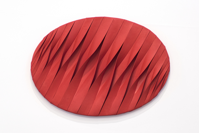 , 'Red Oval Extractile Space,' 2011, Wook + Lattuada Gallery