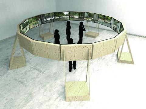 """, 'Project visualisation for """"El agua que tocas es la última que ha pasado y la primera que viene"""",' 2013, La Central"""
