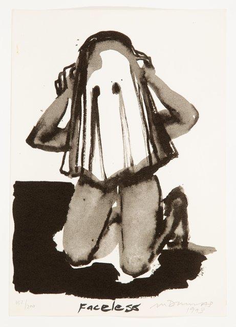 Marlene Dumas, 'Faceless', 1993, Heritage Auctions