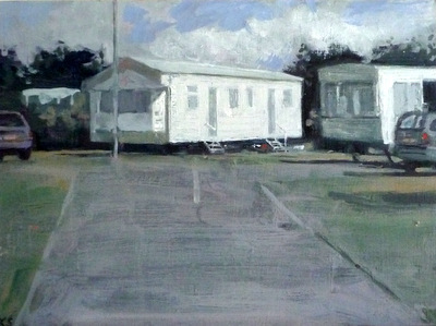 , 'Caravan Park 2,' 2010, Reuben Colley Fine Art