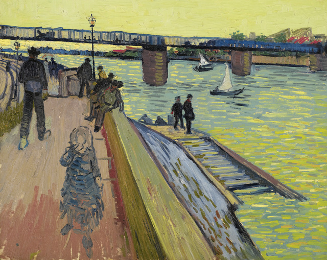 , 'The Bridge at Trinquetaille,' 1888, Van Gogh Museum