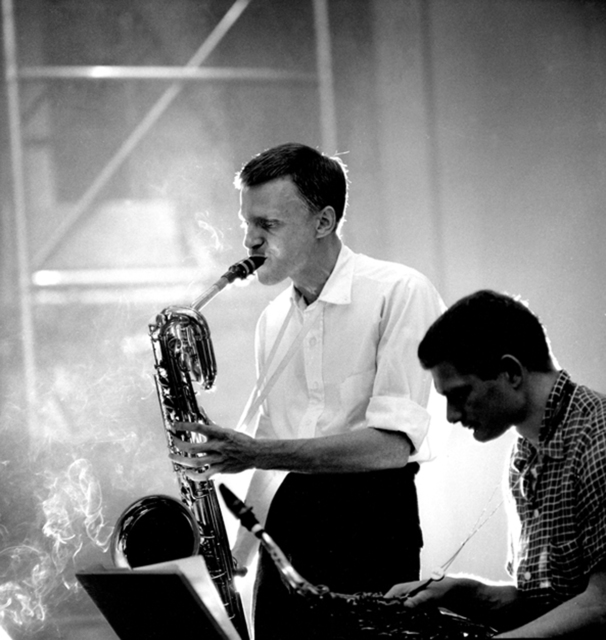 , 'Gerry Mulligan and Zoot Sims, NYC,' 1955, Robert Mann Gallery