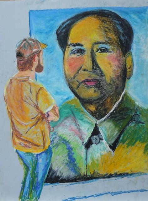 Luong Thai, 'Museum series-Mao', 2019, Matthew Liu Fine Arts