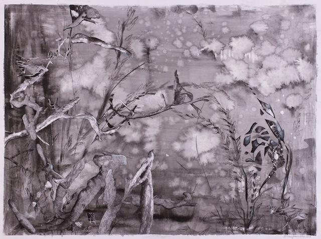 Lauren Jones Worth, 'Morpho Forest', 2012, Walter Wickiser Gallery
