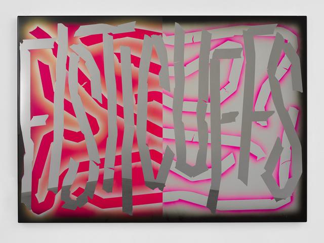 , 'Fisticuffs,' 2017, White Cube