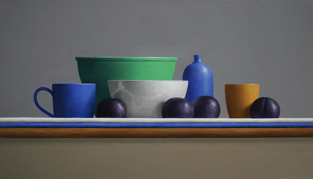 , 'Plum Line,' 2019, Clark Gallery