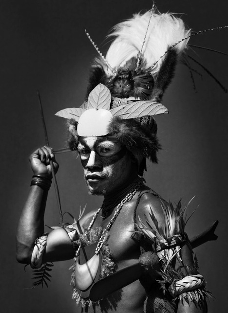, 'PERFORMER AT THE MOUNT HAGEN SING SING FESTIVAL, PAPUA NEW GUINEA,' 2006, Huxley-Parlour