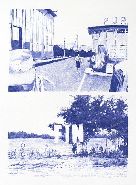 , 'Blue 8,' 2012, Sanatorium