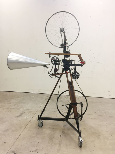 , 'Kinetic Sculpture (Bicycle Wheel),' 2016, Goodman Gallery