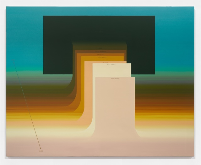 , 'Monuments,' 2016-2018, Luis De Jesus Los Angeles