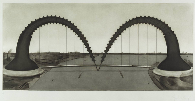 Claes Oldenburg, 'Screw Arch Bridge State II', 1980, William Shearburn Gallery