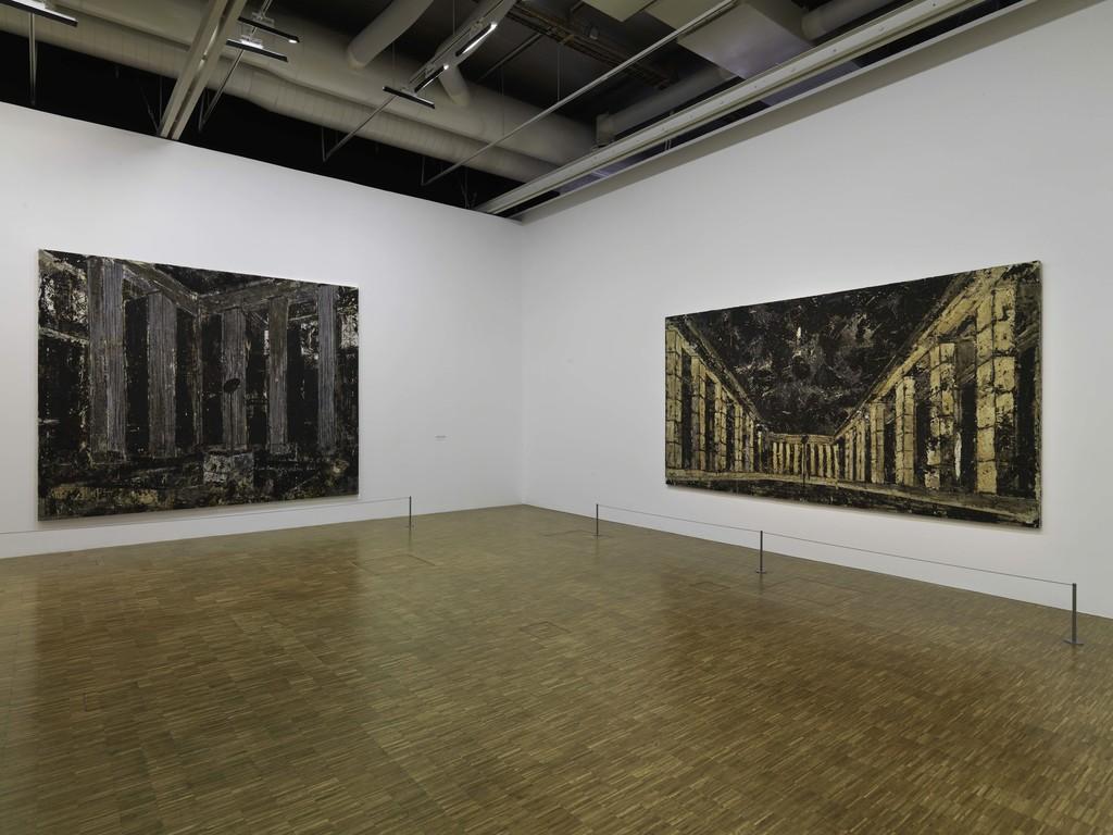 "Installation view of ""Anselm Kiefer"" at Centre Pompidou, Paris (2015-2016)"