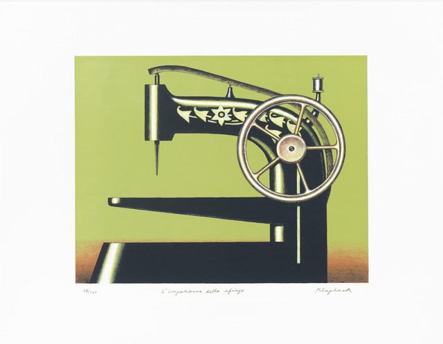 , 'Die Ungeduld der Sphinx,' 1998, Ludorff