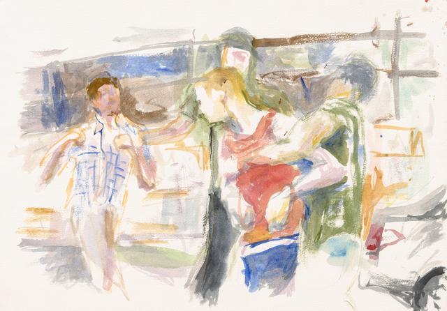 , 'Dans la rue, 2,' 2016, Galerie Buchholz