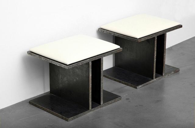 , 'Steel Stools,' 2012, Twenty First Gallery