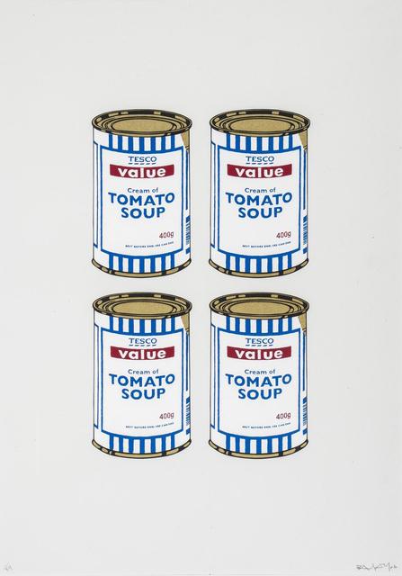 Banksy, 'Soup Cans Quad (Cream Paper)', 2006, Gormleys Fine Art