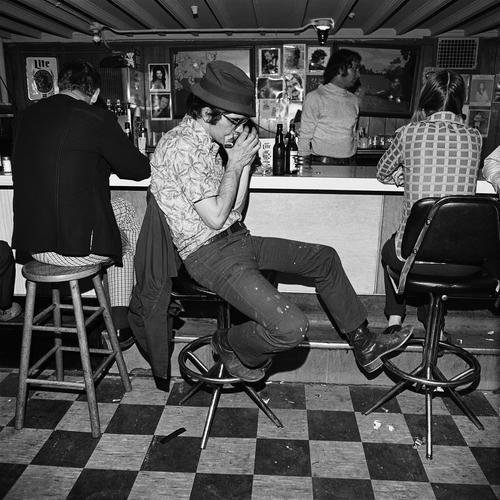 , 'Harmonica Player, Merchant's Cafe, Nashville, TN ,' 1974, Scott Nichols Gallery