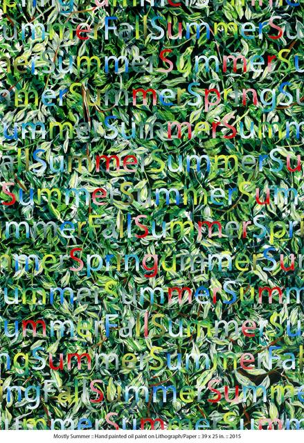Doug Argue, 'Mostly Summer', 2015, Zemack Contemporary Art