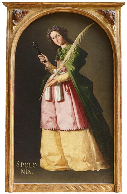 , 'Santa Apolonia (Saint Apollonia),' ca. 1636-1640, Museo Thyssen-Bornemisza
