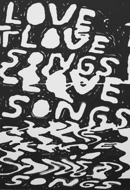 , 'Love Songs,' 2017, Ruttkowski;68
