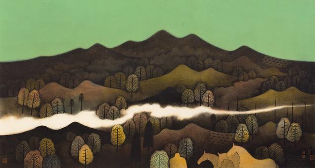 Hong Tao Huang 黄红涛, 'Nameless Hills Series 2 No.213', 2017, White Space Art Asia