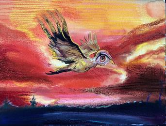 Bird, Juniper Tree from the Ballet, Grimm Tales