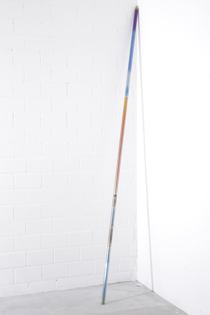 , 'Various threaded poles of determinate length potentially altering their determinacy,' 2014, Häusler Contemporary
