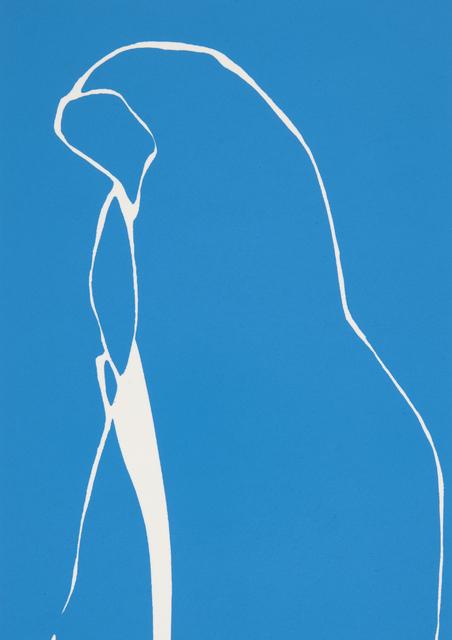 Gary Hume, 'Blue Nun', 2016, Print, Screenprint in colours on wove, Roseberys