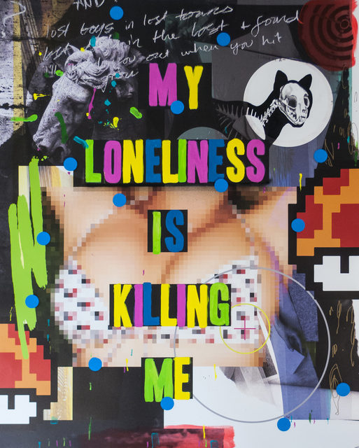 , 'My Loneliness is Killing Me,' 2015, Fabien Castanier Gallery