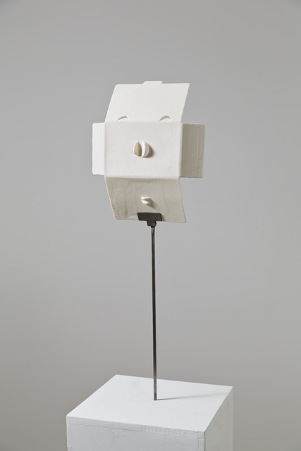 , 'Trying to build a mask out of a smart phone package,' 2013, kaufmann repetto