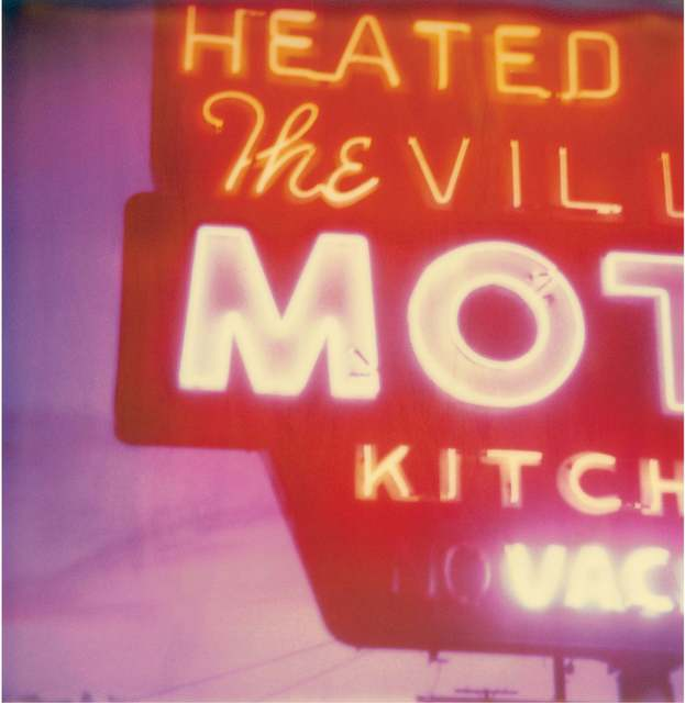 Stefanie Schneider, 'Village Motel Sunset (The last Picture Show)', 2005, Photography, Digital C-Print based on a Polaroid, not mounted, Instantdreams