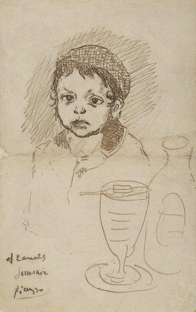 Pablo Picasso, 'Le fils du peintre Catalan Ricardo Canals', 1904, Heritage Auctions