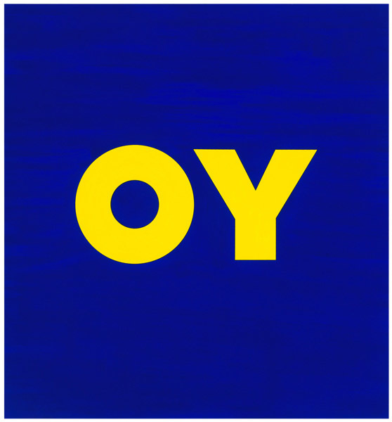 , 'OY,' 2011, William Shearburn Gallery