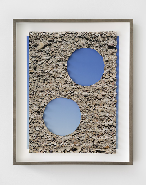 , 'Folded Ground Sky Holes,' 2018, GRIMM