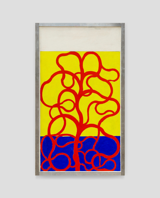, 'Sans Titre (Plante Rouge),' 2018, V1 Gallery